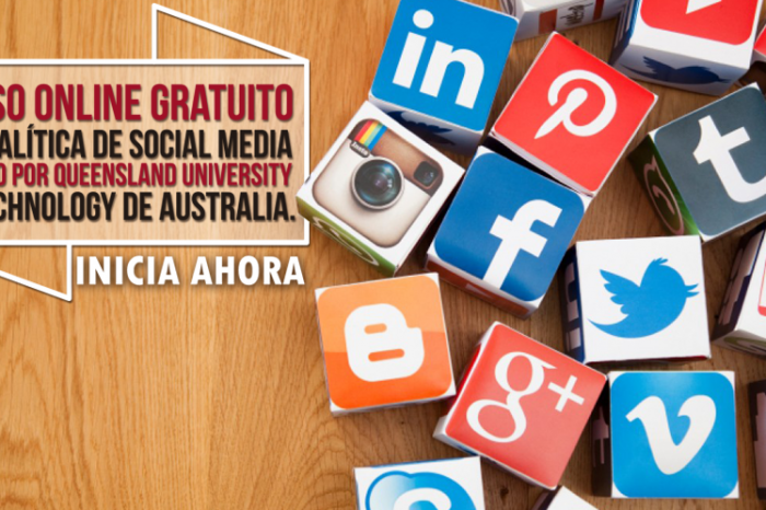 "Curso Online Gratis ""Analítica de Social Media"" Queensland University of Technology Australia"