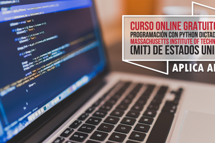 "Curso Online Gratis ""Programación con Python"" Massachusetts Institute of Technology (MIT) Estados Unidos"